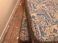 ****Free**** Single Bed has additional single mattress in divan base. Requires uplift.