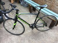 Merida road bike 8 speed gears nearly brand new
