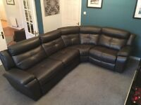 Corner couch recliner, like brand new. £700 ONO