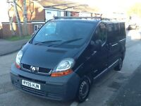 2005 RENAULT TRAFIC SL27 DCI 100 SWB, MOT UNTIL NOVEMBER 17, DRIVES REALLY WELL