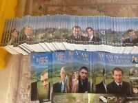 Midsommer Murders DVD 64 in total Nos 1-64 with magazines