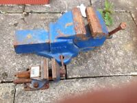 2 bench vice, 1 large 1 small (ideal for shed)