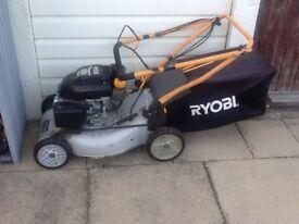 Petrol lawn mower (not working)
