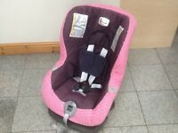 Britax First Class Plus group 0+1 car seat for newborn upto 18kg(to 4yrs)rear& forward facing-washed