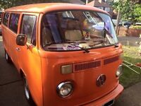 1979/80 VW T2 tin top camper van