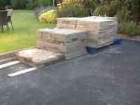 FREE for collection - Concrete Paving Slabs