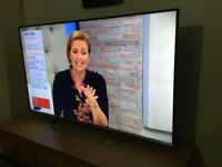 """LG 55"""" smart led 3D WiFi freeview fullHD satellite receiver built in"""