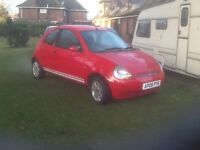 Ford Ka 1.3 in red 2 owners 51k 2008/08 plate
