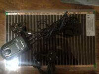 Vivarium heat Mat and Thermostat