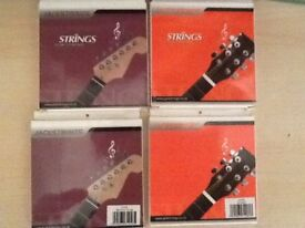 Acoustic & Electric Guitar Strings - New Unopened Packs