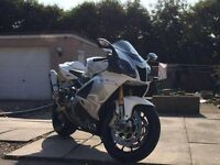 RSV 1000R SHOWROOM CONDITION. 10 PLATE. JUST RUN IN 6000 MILES Px WHY ?