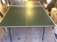 Butterfly indoor/outdoor rollaway full size table tennis table - on wheels