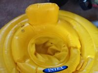 Intex baby swimming ring .