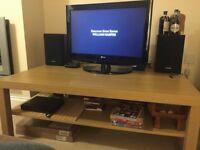 Big IKEA Lack Coffee Table Oak Effect