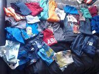Big bundle of boys clothes 7-8/8 years