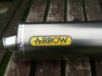 Arrow race can for a zx6r
