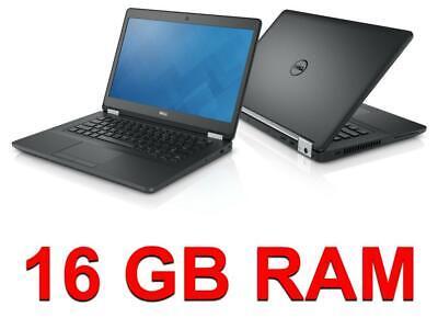Joblot 3x Dell Latitude e5480 16GB Ram i5 7th Gen 3.5GHz 256GB SSD