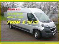 Best MAN WITH VAN on the BEST PRICES!!! REMOVALS SOFAS,BEDS,TABLES,WARDROBES,