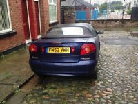 1.6l petrol, Superb engine, full leather, drives perfect, MOT end of sep 16
