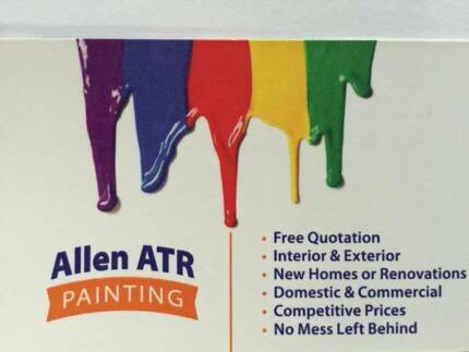 '' Allen ATR '' painting