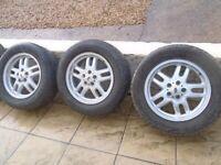 range rover / discovery alloys & tyres