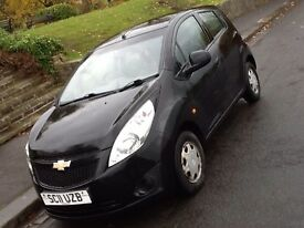 2011 CHEVROLET SPARK PLUS. 1 OWNER FROM NEW