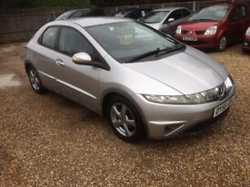 2006 [56] HONDA CIVIC 1.8 PETROL 6 SPEED 1 PREV OWNER MOT SEP 2018