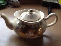 Antique ornate teapot