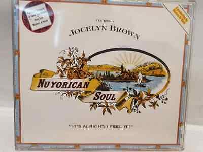 NUYORICAN SOUL IT'S ALRIGHT I FEEL IT FEAT JOCELYN BROWN CD SINGLE