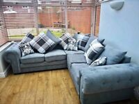 LUXURY BRAND NEW BARON CHESTERFIELD CORNER SOFA AVAILABLE IN GREY BOOK YOUR ORDERS