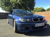 BMW 318 M Sport Convertible.