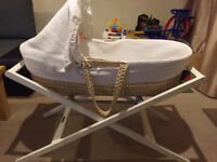 Mamas & Papas Rocking Stand for Moses Basket & Carrycot (Natural)