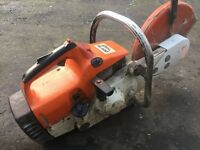 stihl ts400 just been serviced +++++++++++++++++++++++++++++