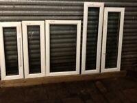 Windows pvc double glazed white or wood effect