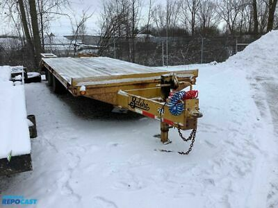 2007 Belshe Flatbed Equipment Trailer
