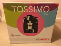 Black Bosch Tassimo Joy coffee machine New & Sealed