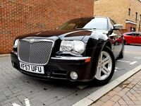 ((Chrysler 300C CRD V6 2KEYS Diesel SAT NAV FULLY Luxury LOADED HPI CLEAR))