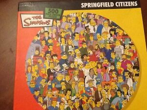 Simpsons jigsaw puzzle - 500 pieces South Coogee Eastern Suburbs Preview