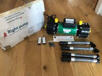 SALAMANDER RAP100 TWIN PUMP - Still in original package (NEW) never been used