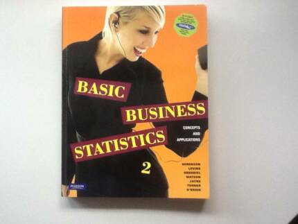 Basic Business Statistics: Concepts and Applications 2nd edition Canterbury Boroondara Area Preview