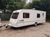 2006 Bailey Pageant Bretange 6 Berth caravan FIXED BUNK BEDS, Awning, VGC !