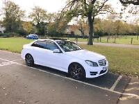 Mercedes C220 2.1 Diesel Amg Sports Plus Premium Edition Fully Automatic With Panaroamic Roof W204