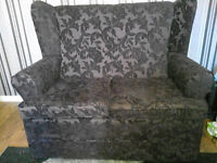 2 seater settee winged 2 months old