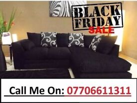 ZINA Luxury Corner Sofa As In Pic Left Or Right Chaise FREE DELIVERY