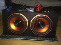 "Edge car 12"" subwoofers"