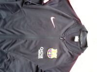 Nike Barcelona track suit top navy. Excellent condition size medium.