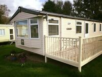 Static Caravan, sited in the Gower Peninsula