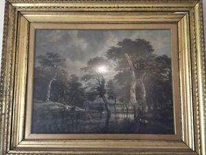 "Original ""Jacob Van Ruisdael""print Gulgong Mudgee Area Preview"