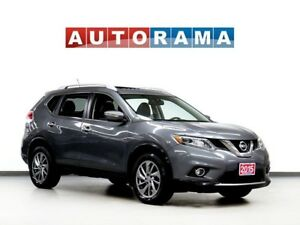 2015 Nissan Rogue NAVIGATION LEATHER PAN SUNROOF 4WD BACKUP CAM