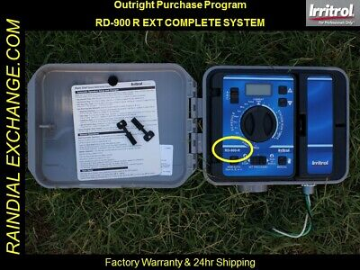 NEW - Irritrol / Hardie Rain Dial RD-900 R / RD-900 EXT COMPLETE SYSTEM